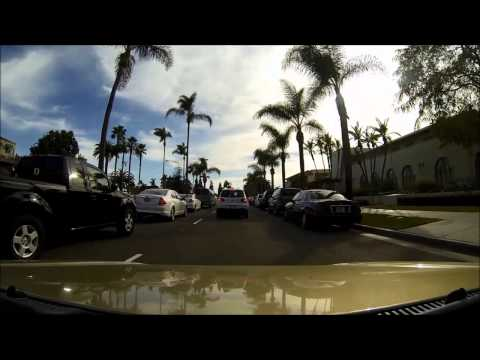Driving around San Diego - Timelapse