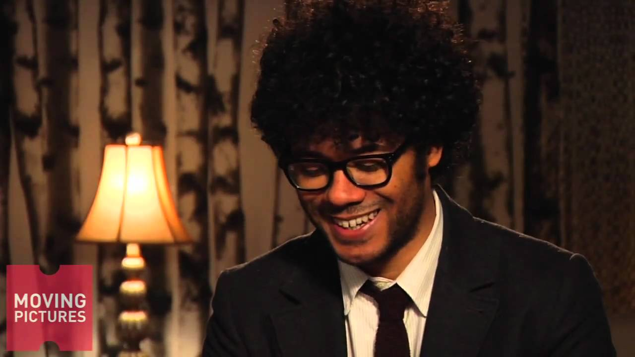 Richard Ayoade - Magazine cover