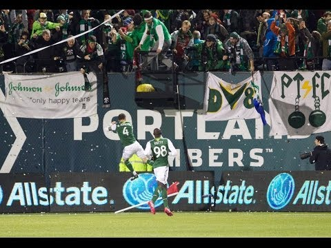 GOAL: Will Johnson converts the PK | Portland Timbers vs Seattle Sounders FC