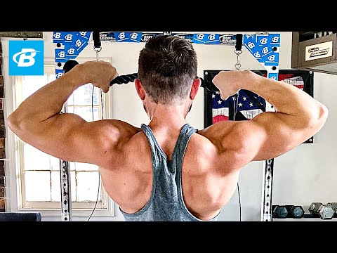 Garage Gym Shoulder Workout | Zane Hadzick