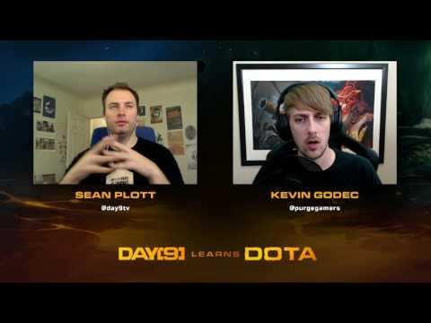 Day[9] Learns Dota - Episode 14 (Lesson w/ coach Purge)
