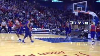 KU basketball open scrimmage highlights