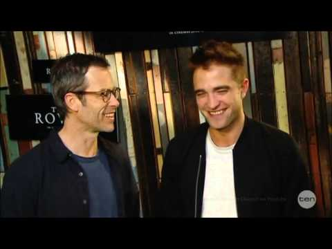"FUNNY Robert Pattinson w/ Guy Pearce ""The Rover"" Australian Tv Interview 6-6-2014"