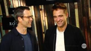"""FUNNY Robert Pattinson W/ Guy Pearce """"The Rover"""
