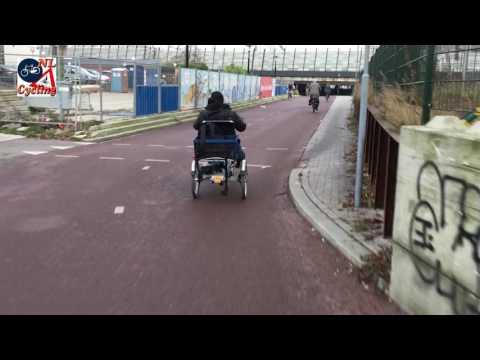 The alternative ride to the Utrecht Moreelsebrug