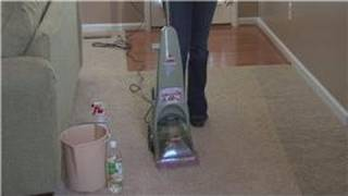 Housecleaning Tips : How To Make A Dirty Carpet Look Clean