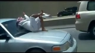 [Crazy People- Over the Car (Amazing Vídeo)] Video