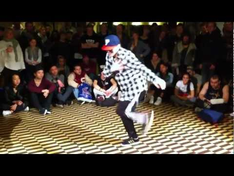 Floor Wars 2012 - Toprock Battle - Quarter Final - B-Boy Ludi vs. R2Rico
