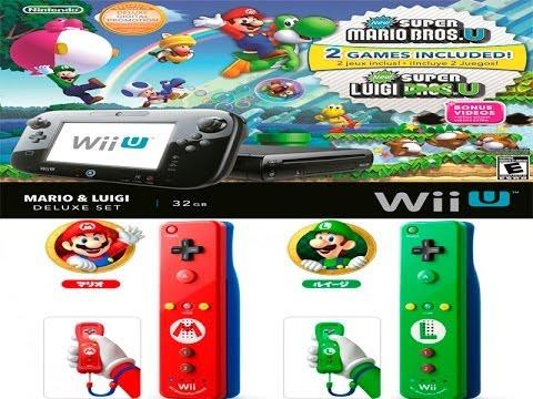 Unboxing Nintendo Wii U Deluxe + Wiimote Mario & Luigi(unboxing PT-BR)