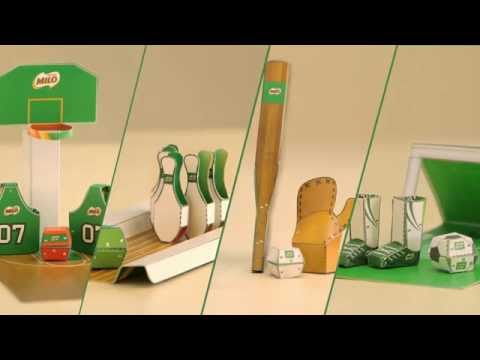Nestle MILO - Hướng dẫn hoàn thiện bộ Sân đấu siêu cấp MILO
