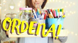 Ideas fáciles para ortganizar tu cuarto