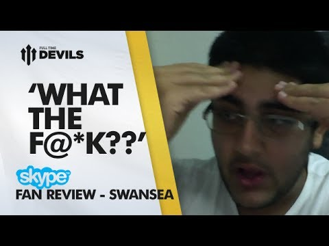 'WHAT THE F@*K?' (Fan Loses It) | Manchester United 1-2 Swansea City - FA Cup | FANCAM SKYPE