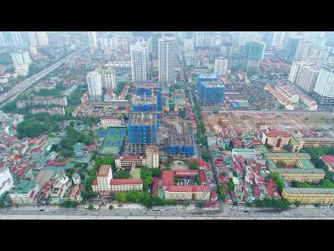 Flycam công trình TNR Goldseason 47 Nguyễn Tuân