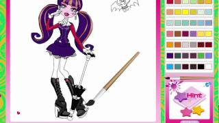 Juego: Colorear Las Monster High