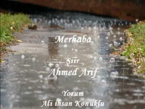 merhaba ahmed arif şiiri