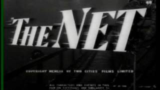 THE NET 1953 82 Minutes British Thriller Phylllis Calvert