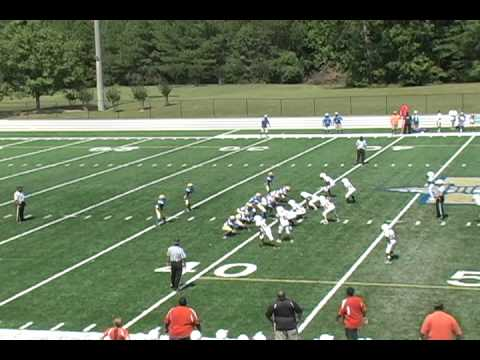 Youth Football:  27- McEachern Gold vs. 0- Kell White