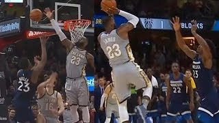 LeBron James Blocks Jimmy Butler Then Hits Game Winner on Him! Cavaliers vs Timberwolves