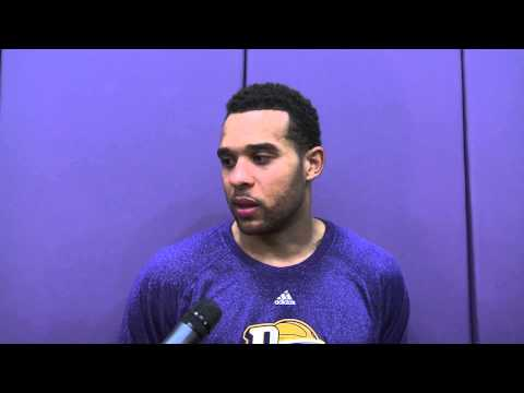 Lakers Assignment Player: Elias Harris D-Fenders Post-Game Interview 11/23/13