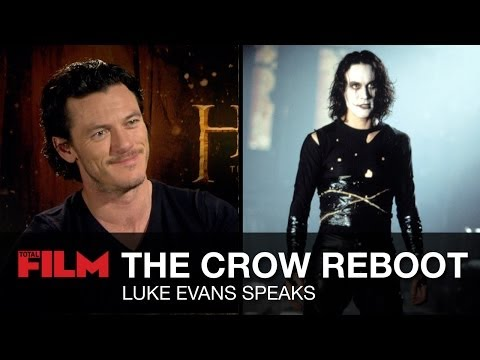 Luke Evans talks The Crow remake's faithfulness to the comics