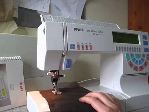 pfaff 7550 sewing machine