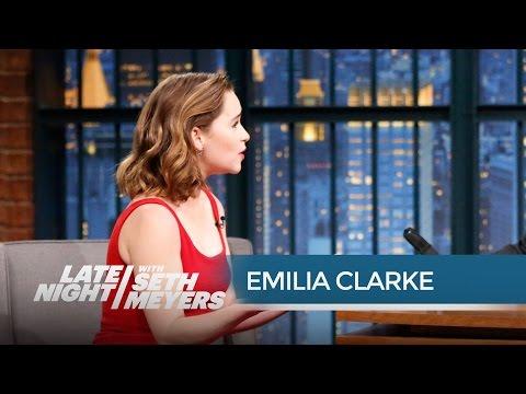 Game of Thrones' Emilia Clarke: Dothraki Is a Real Language