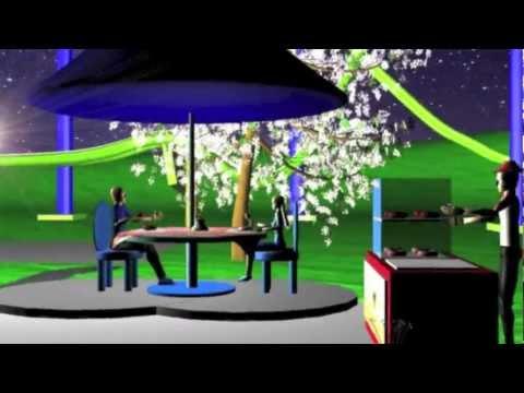 Animasi 3D karya 2 orang siswi SMKN 1 Kota Tangerang.