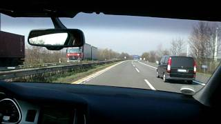 On the Autobahn in an Audi Q7 3.0 TDI (1) videos