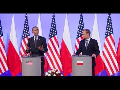 Donald Tusk i Barack Obama - wspólne oświadczenia