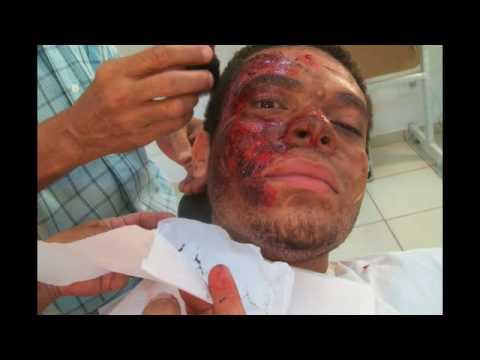 Maquiagem de efeitos para TV