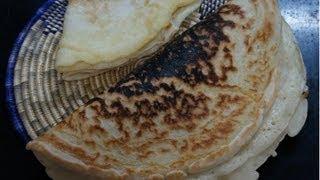አነባበሮ - Annebabero Ethiopian Pizza bread recipe not Dabo or Injera in Amharic with English text How