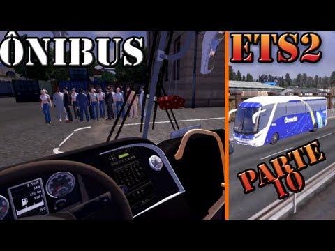 Euro Truck Simulator 2: Onibus com passageiros (parte 10)