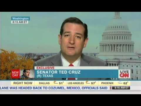 Sen. Ted Cruz with Chris Cuomo on CNN's New Day