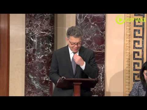 Franken: Heartbreaking Stories Of The Unemployed Who Have Paid For Insurance Congress Is Denying