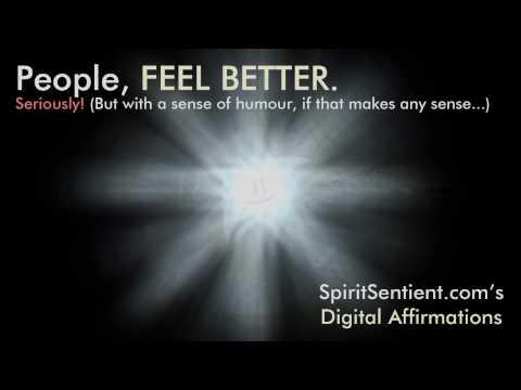 SpiritSentient.com  Digital Affirmations Teaser Promo