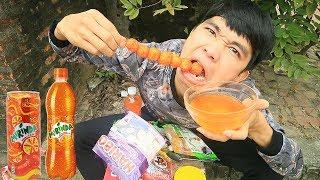 PHD | Chấm Tất Cả Mọi Thứ Với Mirinda | Mix Food With Fanta