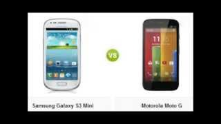 Comparativa: Samsung Galaxy S3 Mini VS Motorola Moto G