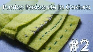 Puntos básicos para costura a mano  - Parte 2