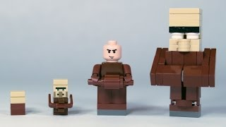 How To Build: LEGO Minecraft Villagers