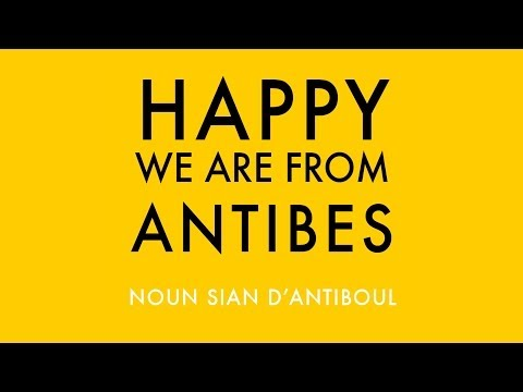 PHARELL WILLIAMS - HAPPY - We are from ANTIBES #HappyDay