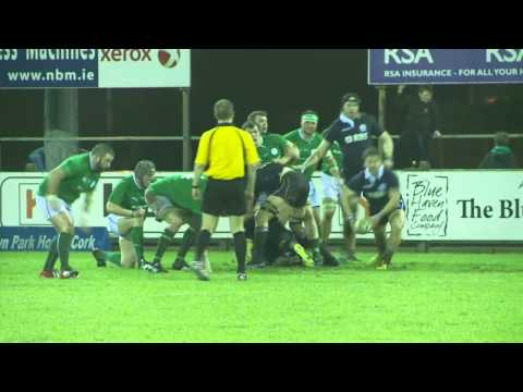 Ulster Bank Club International Irish Clubs v Scottish Clubs 2014