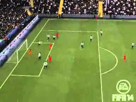 FIFA 14 Luis suarez Goal Against Spurs