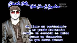 Gerardo Ortiz Solo Vine A Despedirme(bachata Con Letra