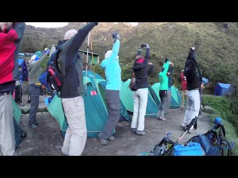 Inca Trail to Machu Picchu 2014