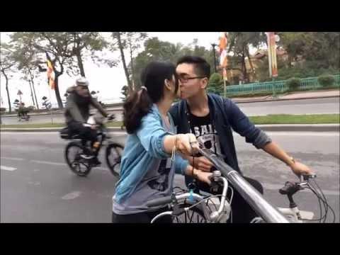 cặp đôi tự sướng selfile gây sốt cộng đồng mạng