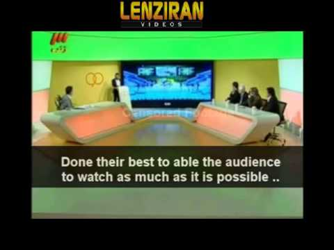 Iranian TV director praise sport 90 for sencor of World Cup draw according to Islam !