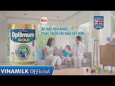 Quảng cáo Vinamilk - Sữa bột cao cấp Optimum Gold 4 (45s)