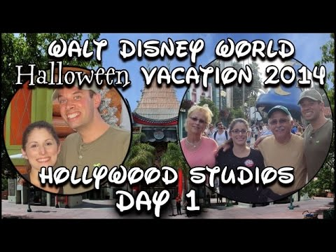 Walt Disney World Halloween Vacation 2014 Day One: Hollywood Studios
