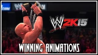 WWE 2K15 Winning Animation Improvements! (2K14)