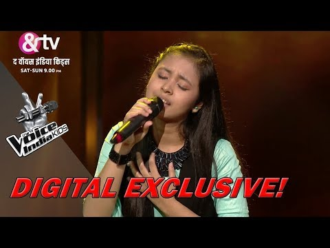 Neelanjana Ray Performs On Bada Dukh Dina O Ramji | Sneak Peek | The Voice India Kids - Season 2